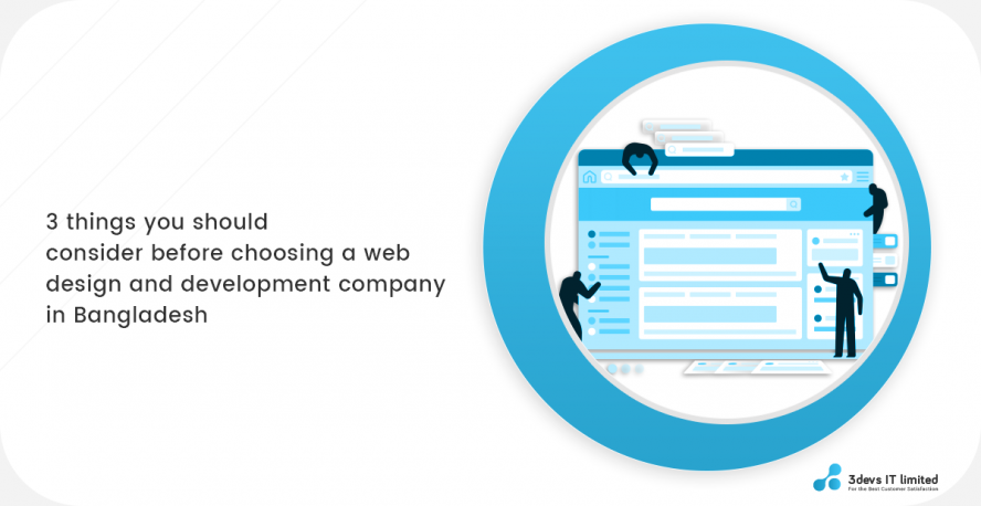 3 things you need to consider before choosing a web design and